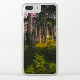 Oregon Forest II Clear iPhone Case
