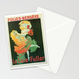 La Loie Fuller Stationery Cards