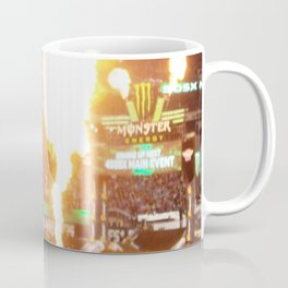 MX Supercross Explosive Fire Coffee Mug
