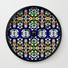 Hawaiian Garden 2 Wall Clock