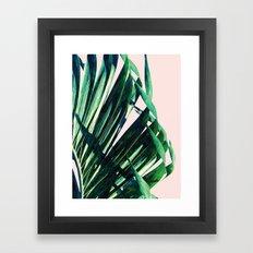 Palm V2 #society6 #decor #buyart Framed Art Print