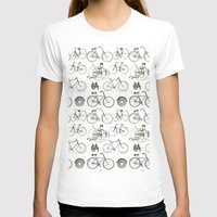 bicycles T-shirts featuring Vintage Bicycles by Thinx Shop