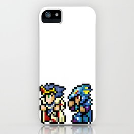 Final Fantasy II - Cecil and Kain iPhone Case