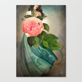 The Favorite Flower Canvas Print