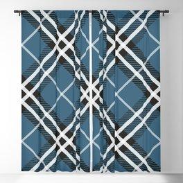 Blue Saint Andrew. Blackout Curtain