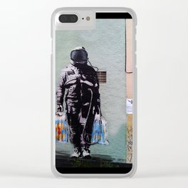 The Spaceman Clear iPhone Case