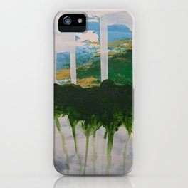 White Out- Sky iPhone Case