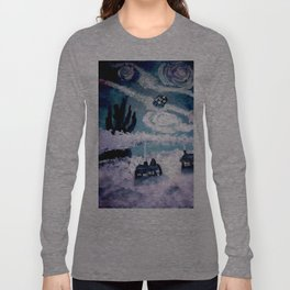 Tardis Stary Night Long Sleeve T-shirt