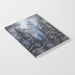 Snow Starlight Notebook