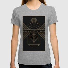 Art Deco Intersectional Feminism T-shirt