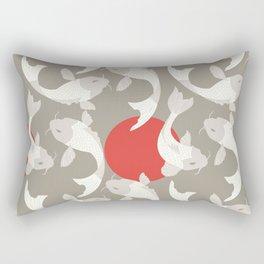 Koi fish pattern 002 Rectangular Pillow