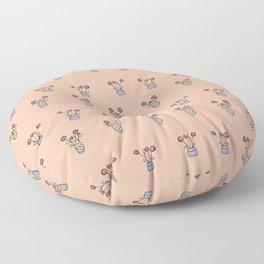 Ice Cream Flower Floor Pillow