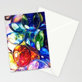 Glass Gems Stationery Cards