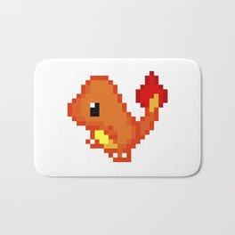 Char pixel art Bath Mat