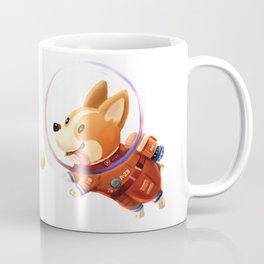 Astronaut Corgi Coffee Mug