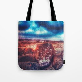 Shrooms on the beach Tote Bag