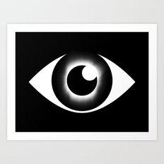 Sky Eye Art Print