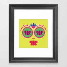 Indian face Framed Art Print