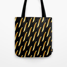 Gold link chain texture Tote Bag