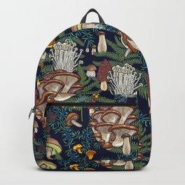 Dark mushroom forest Backpack