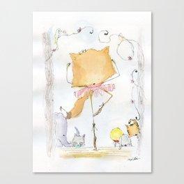 Foxerina Canvas Print