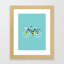Cruiser Bike Framed Art Print