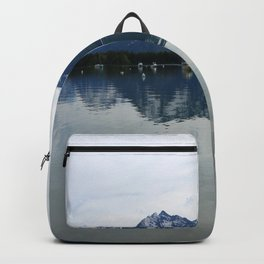 Peaceful Evening At The Lake Backpack