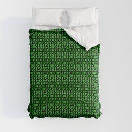 Binary Green Comforters