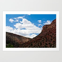 Arizonan Landscape 1 Art Print