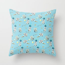 Hold the Earth Throw Pillow