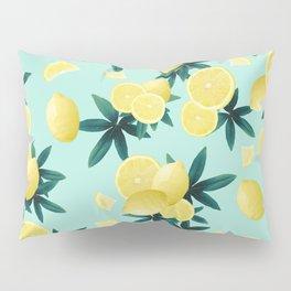 Lemon Twist Vibes #1 #tropical #fruit #decor #art #society6 Pillow Sham