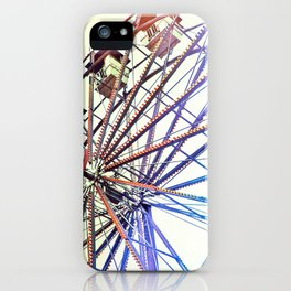 Modern Spin on Neolithic Technology iPhone Case