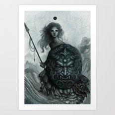 Shield Art Print