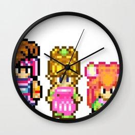 Secret of Mana Characters Wall Clock