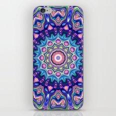 Circular Spectral Kaleidoscope iPhone Skin