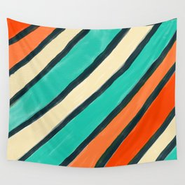 Coloured Stripes Wall Tapestry