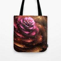valentine Tote Bags featuring Valentine by Eli Vokounova