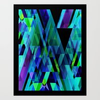 prism Art Prints featuring Prism by Nest 6