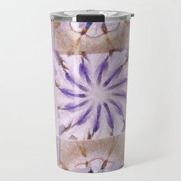 Faience Entity Flowers  ID:16165-051910-13480 Travel Mug