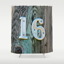 Sweet 16 Shower Curtain