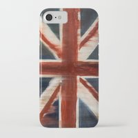 union jack iPhone & iPod Cases featuring Union Jack by breezy baldwin