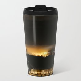 Captured and Claimed Light by the City at Night Travel Mug