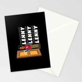 Knock, Knock, Knock Lenny!!! Stationery Cards