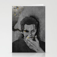 stiles Stationery Cards featuring nogitsune!stiles by steammmpunk