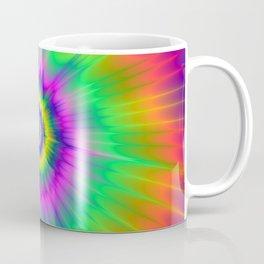 Tie Dye Fireball Coffee Mug