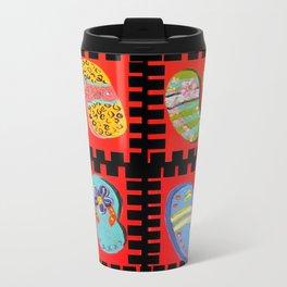 Flip Flops Times Four Travel Mug