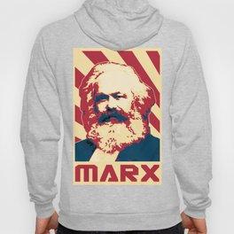 Karl Marx Retro Propaganda Hoody