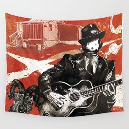 Delta Blues - Robert Johnson & Friends Wall Tapestry