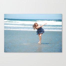 the ocean. Canvas Print