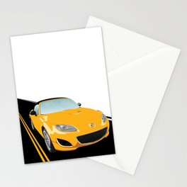 Japanese Roadster 2009, Competition Yellow Stationery Cards